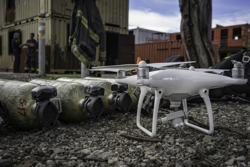 DJI drones to assist first responders