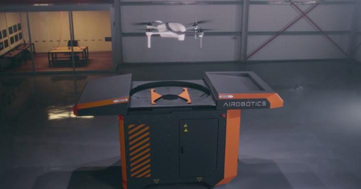 Automated drone platform Airobotics unveiled