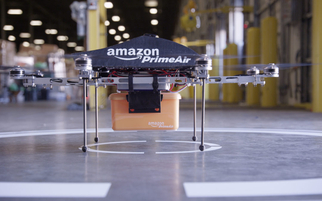 Amazon granted patent for UAV docking stations