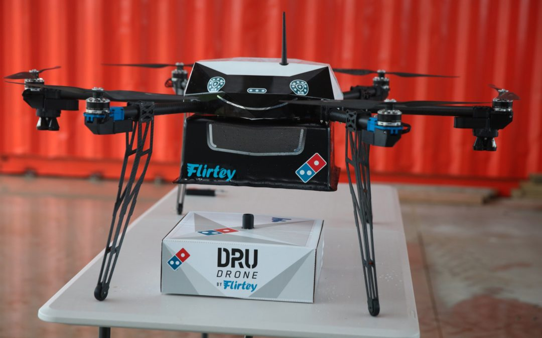Domino's announces a pizza drone delivery service