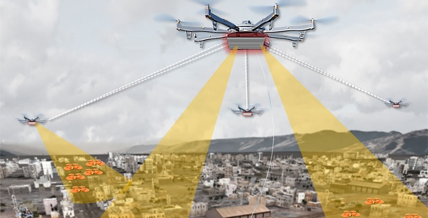 DARPA wants to manage urban drone flights
