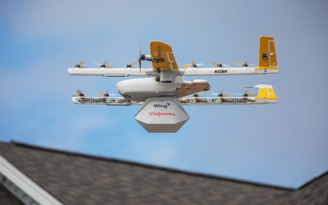 Wing completes first commercial drone delivery flights in U.S. history