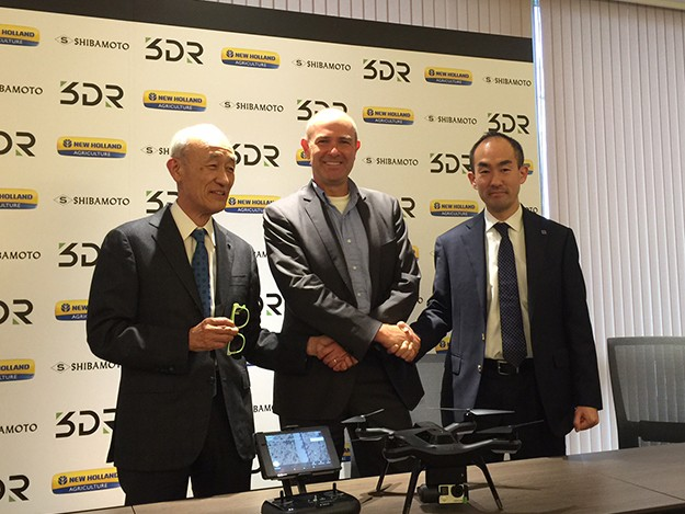 3DR partners with Shibamoto to bring drones to Japan
