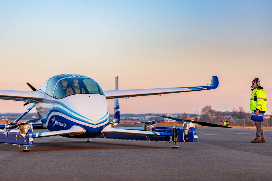 Boeing successfully completes first outdoor test of its cargo drone