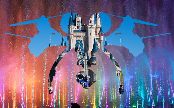 Disney Patents Projection Drones