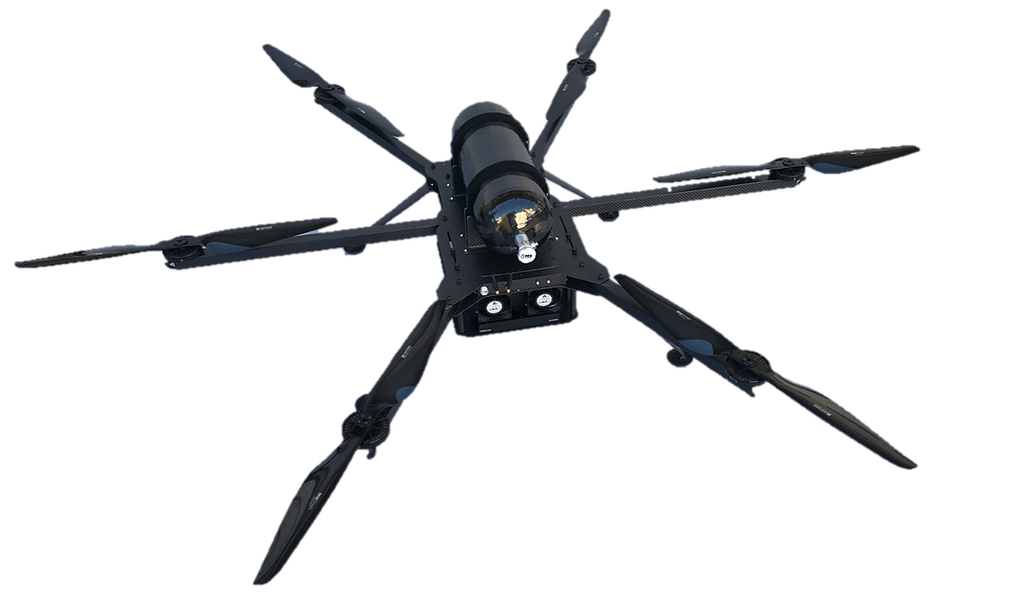 HES Energy Systems Launches Multi-Rotor Drone With Up to 3.5 Hours of Flight Time