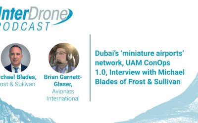 Episode 46: Dubai's 'miniature airport' network, UAM ConOps 1.0, Interview with Mike Blades of Frost & Sullivan