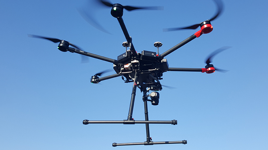 Real-Time Organ Delivery by Drone Tested