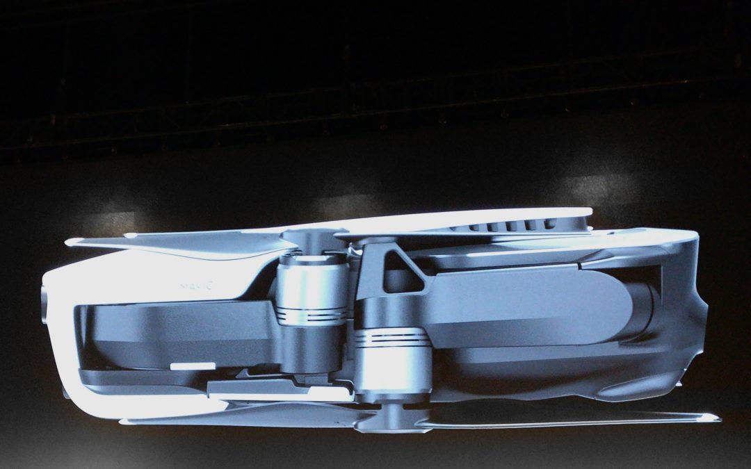 DJI Unveils the Mavic Air, A Lightweight and Portable Powerhouse
