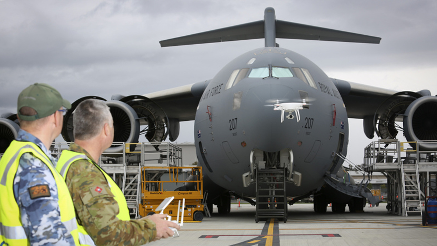Royal Australian Air Force Chooses DJI to Inspect Aircraft