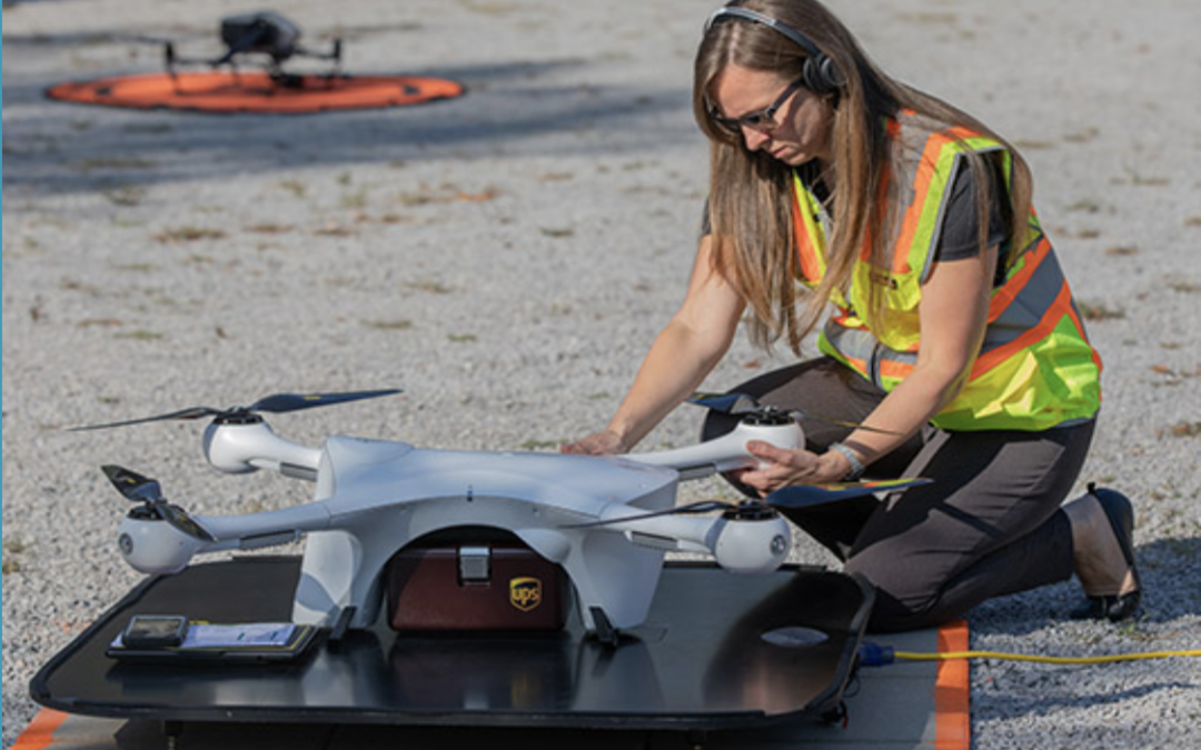 UPS granted first-ever broad approval to operate numerous drones for delivery