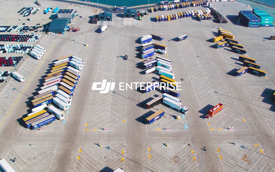 World's leading ferry transport company uses DJI with AI to automate inventory tracking