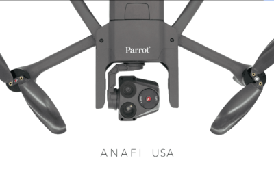 Parrot Partners with Hoverseen, Kittyhawk, Others to Enhance New ANAFI USA Drone