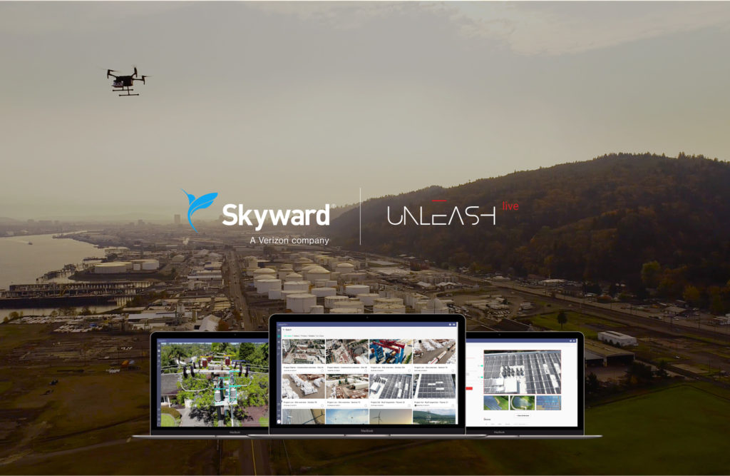 Skyward partners with Unleash live to provide AI, livestreaming, and data modeling solutions