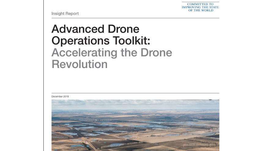 India Pilots Advanced Drone Operations Toolkit from World Economic Forum