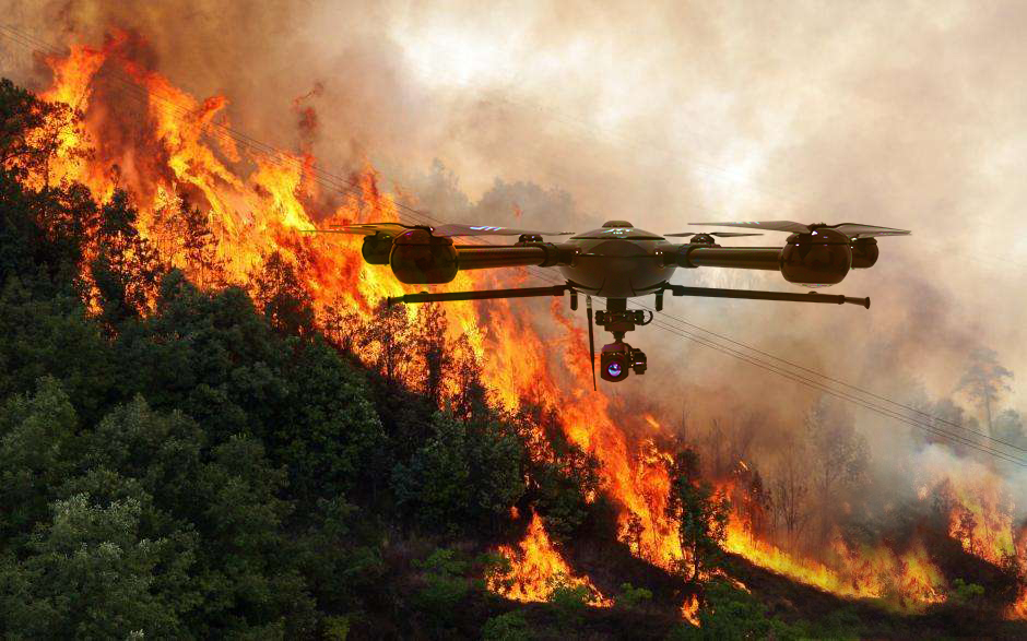 OAS Requests Information for Heavy-Lift UAS During Wildfires