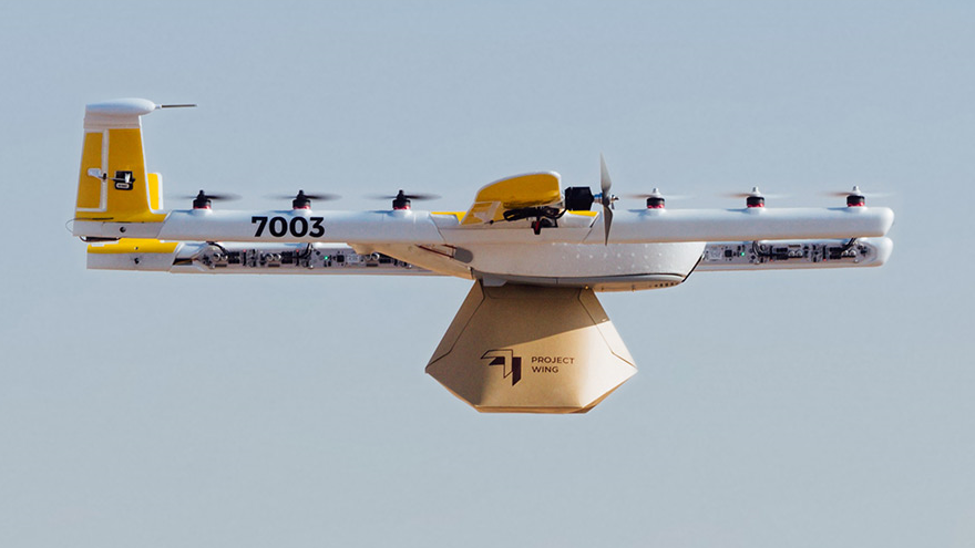 Google's Wing May Be Granted the First-Ever Drone Airline License in the U.S.