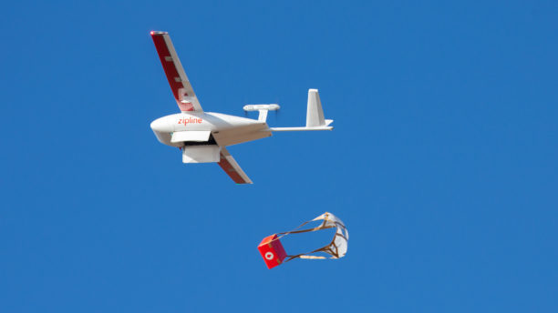 Zipline expands operations, making it the largest medical drone delivery service