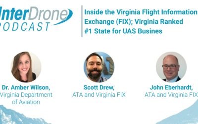 Episode 53: Virginia Flight Information Exchange (FIX); Virginia Ranked #1 State for Drone Business