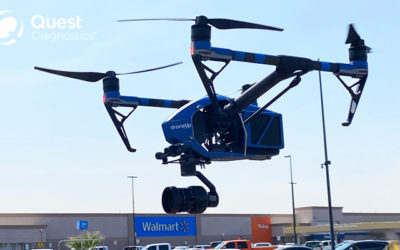 Walmart Partners with Quest Diagnostics and DroneUp for Free COVID-19 Test Kit Delivery