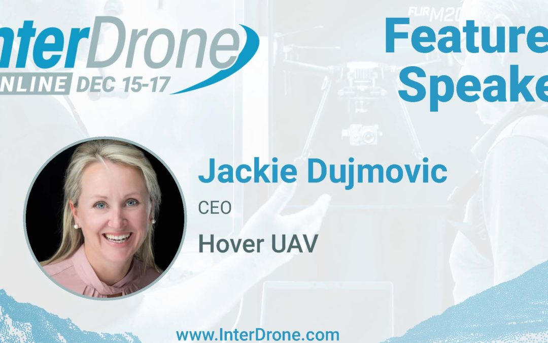 InterDrone Online 2020 Speaker Tiles - Jackie Dujmovic
