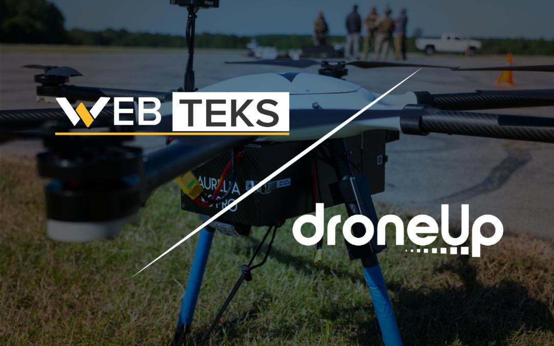 DroneUp Acquires Web Teks | Acquisition Accelerates DroneUp's Tech IP