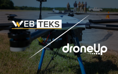 DroneUp Acquires Web Teks | Acquisition Accelerates DroneUp's Tech IP